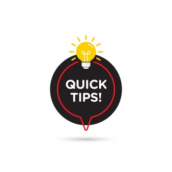 quick-tips-helpful-tricks-vector-logo-icon-or-symbol-set-with-black-and-yellow-color-and-lightbulb-element_1408-627